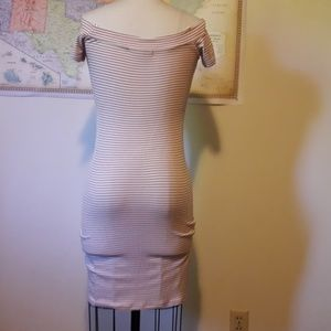 one clothing Dresses - Fitted off the shoulder knit dress